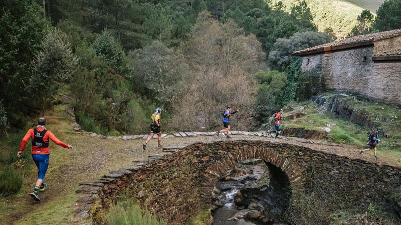 Trail 'Cumbres Hurdanas' en Caminomorisco