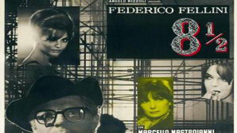 Proyección de '8 y medio', de Federico Fellini