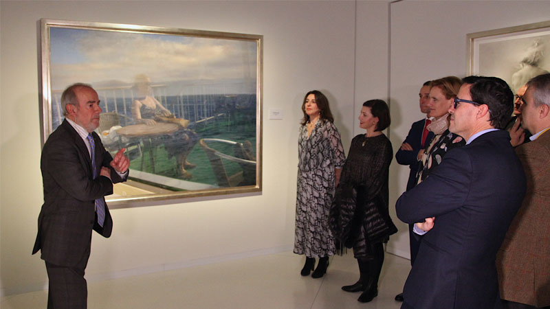 Exposición de Eduardo Naranjo en Badajoz
