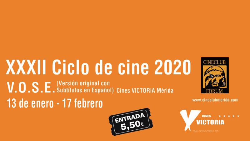 XXXII Ciclo de cine en versión original en Mérida