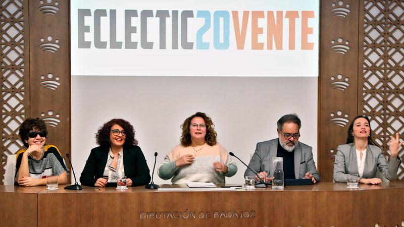 Programa de conciertos 'Eclectic20vente' en Badajoz