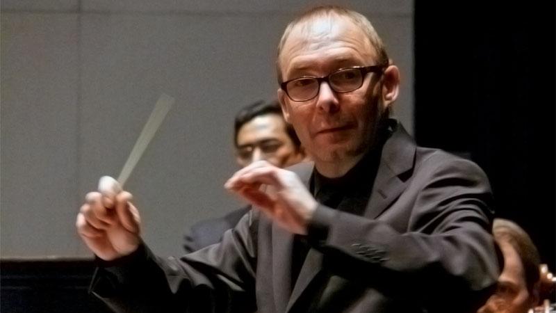 Concierto de la Orquesta de Extremadura en Villanueva de la Serena dirigida por Francisco Valero