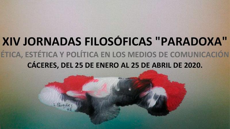 XIV Jornadas filosóficas 'Paradoxa' en Cáceres