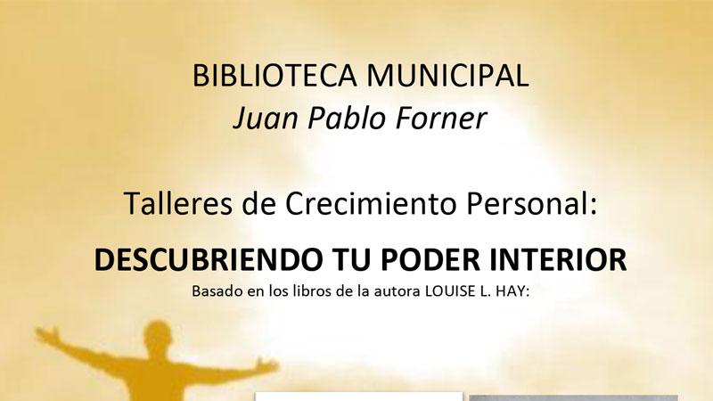 Taller de crecimiento personal en la Biblioteca Juan Pablo Forner de Mérida