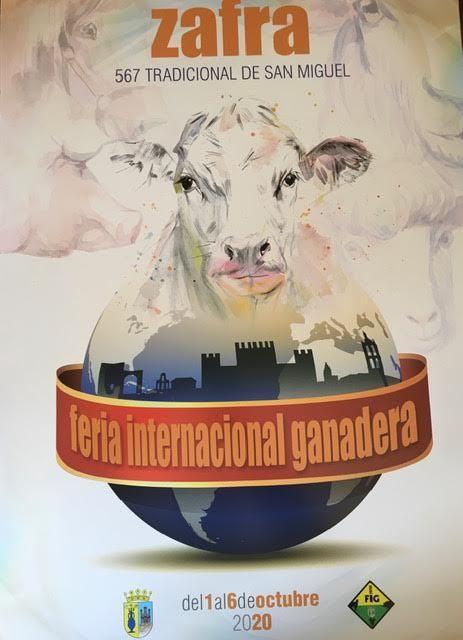 Cartel de la Feria Zafra de 2020