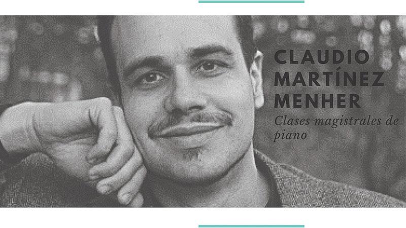 Clase magistral de piano de Claudio Martínez Menher en Badajoz