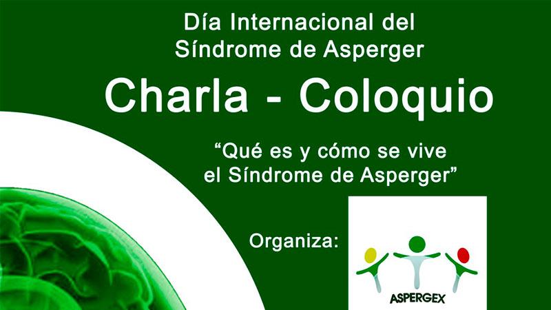 Charla-Coloquio con motivo del Día Internacional del Asperger en Badajoz