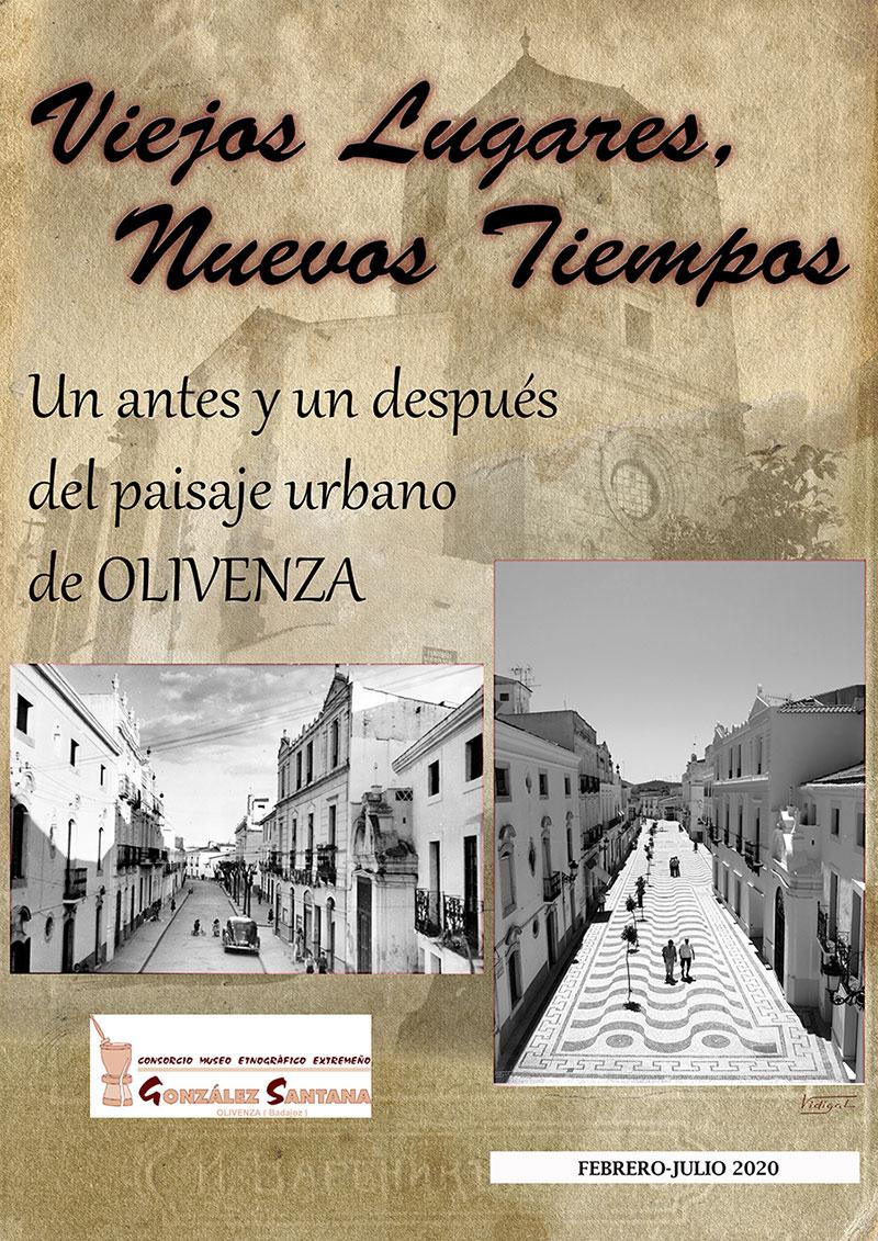 """Exposición """"Viejos Lugares, Nuevos Tiempos"""" en Olivenza"""