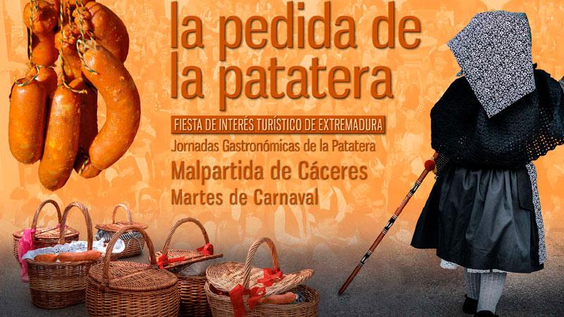 Carnaval y 'Pedida de la patatera' de Malpartida de Cáceres 2020
