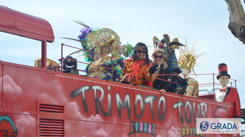 Entierro de la sardina del carnaval de Badajoz 2020