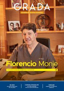 Florencio Monje. Referente mundial en cirugía oral y maxilofacial. Grada 143. Portada