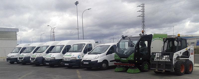 Algunos de los vehículos de SIE 2000. Foto: Cedida