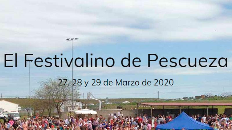Festivalino de Pescueza 2020