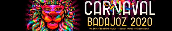Banner Carnaval Badajoz 2020. Ver artículos.