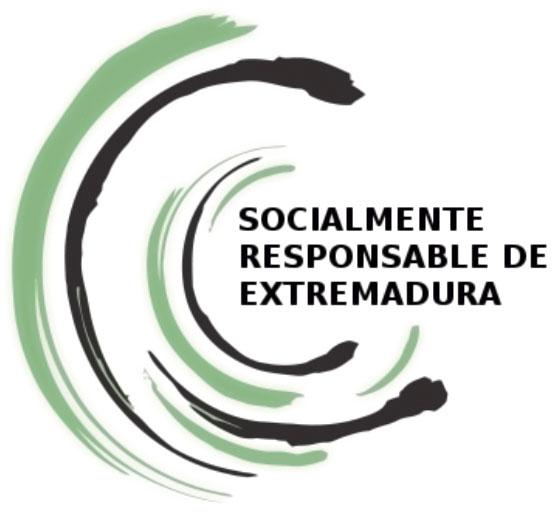 Logo de empresa socialmente responsable de Extremadura