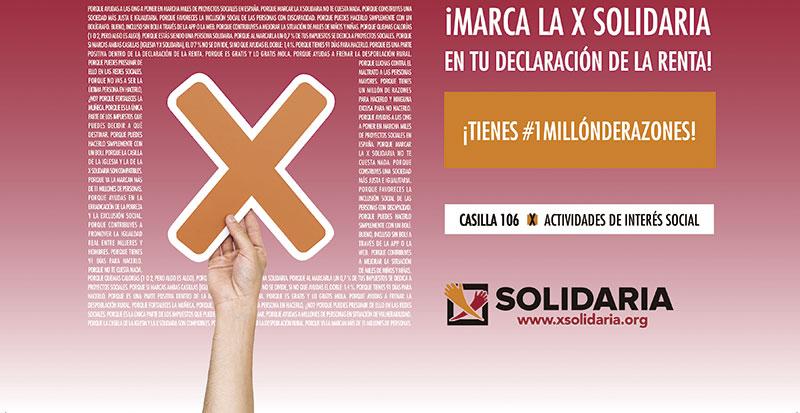 Campaña de la 'X solidaria'