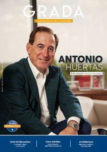 Antonio Huertas. Éxito laboral y compromiso social. Grada 146. Portada
