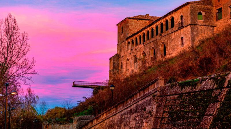 Almazán, en Castilla y León. Foto: Red de Ciudades y Villas Medievales
