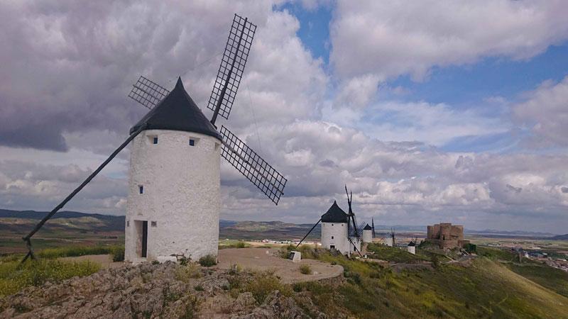 Consuegra, en Castilla-La Mancha. Foto: Red de Ciudades y Villas Medievales