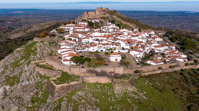 Marvão, en Portugal. Foto: Red de Ciudades y Villas Medievales