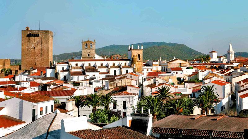 Olivenza, en Extremadura. Foto: Red de Ciudades y Villas Medievales