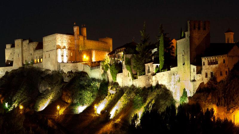 Sigüenza, en Castilla-La Mancha. Foto: Red de Ciudades y Villas Medievales