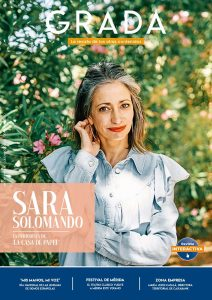 Sara Solomando. La periodista de 'La casa de papel'. Grada 147. Portada