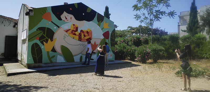 Intervención de Ironeva en el Parque Valhondo. Foto: Cedida