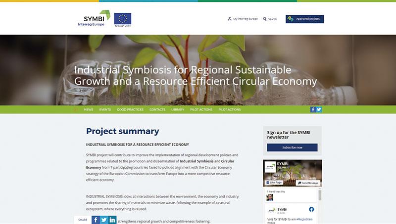 Web del proyecto Symbi