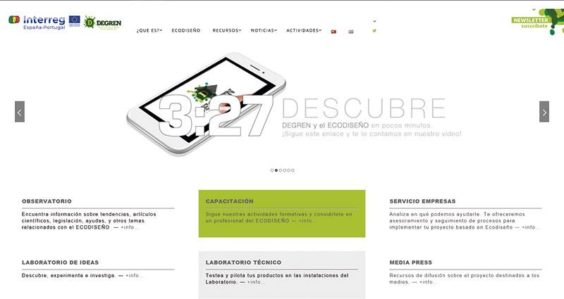 Web del proyecto Degren