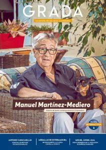 Manuel Martínez-Mediero. Historia del teatro contemporáneo en Extremadura. Grada 148. Portada