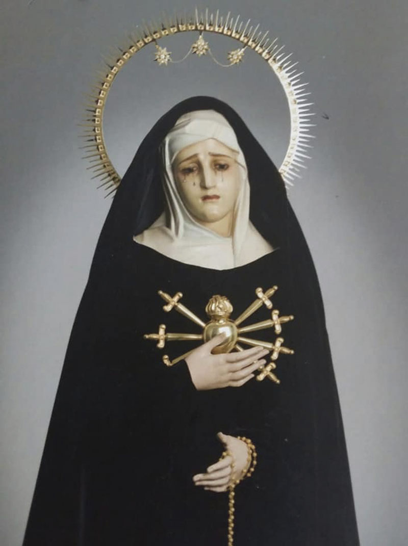 Nuestra Señora de los Dolores. Foto: Cedida