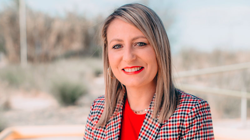 Mónica Calurano, nueva presidenta de Aupex. Foto: Ayuntamiento de Villanueva de la Serena