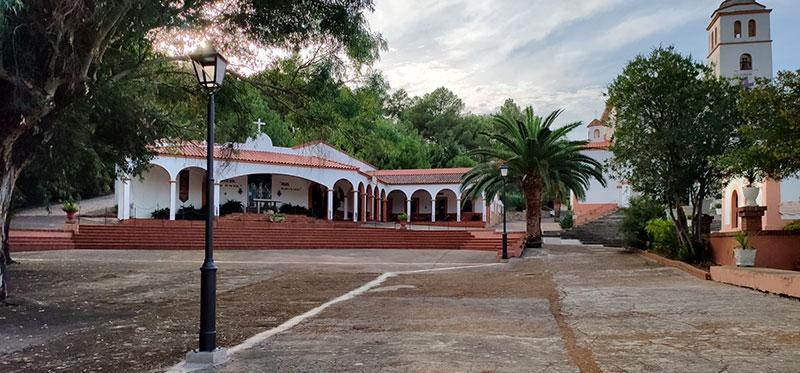 Entorno del santuario de Chandavila. Foto: Cedida