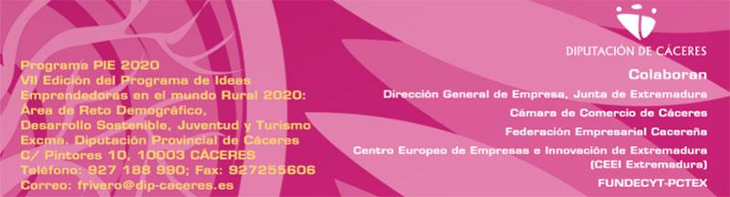 Premios PIE de la Diputación de Cáceres