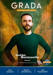 Julián Quintanilla. La afilada pluma que parió La Chary. Grada 149. Portada