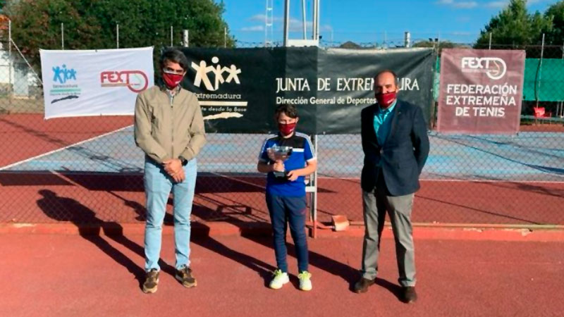 Javier Contreras, ganador del Trofeo al juego limpio. Foto: Cedida