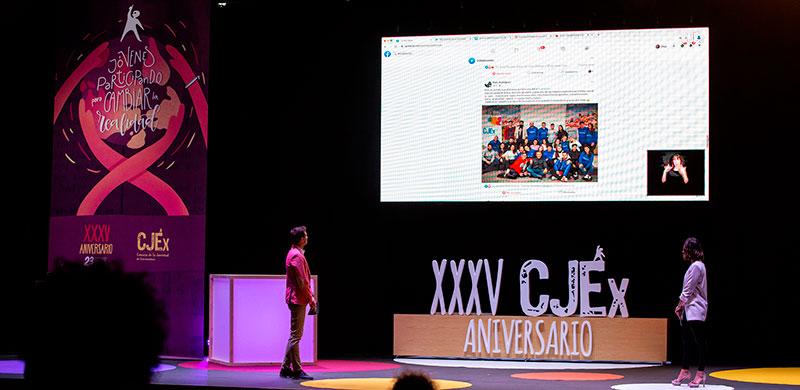 Gala del XXXV Aniversario del Consejo de la Juventud de Extremadura. Foto: Cedida