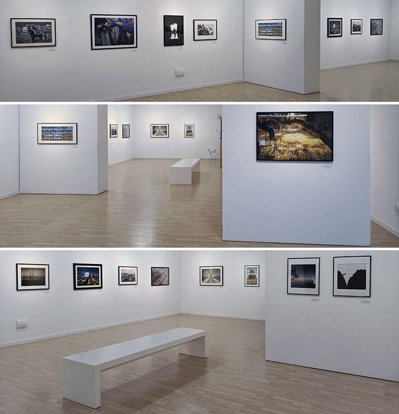 Vistas de la exposición. Fotos: Cedidas