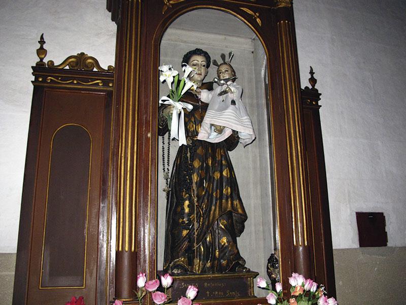 San Antonio de Padua, del siglo XVIII. Foto: Cedida