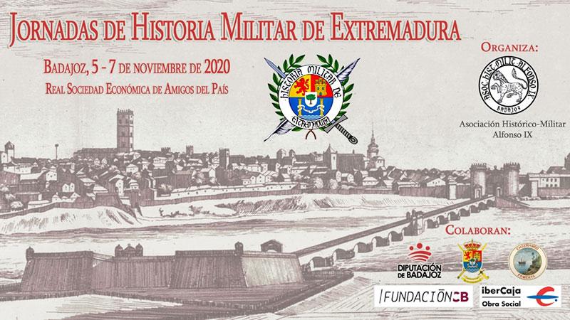 Jornadas de Historia Militar en Extremadura en Badajoz