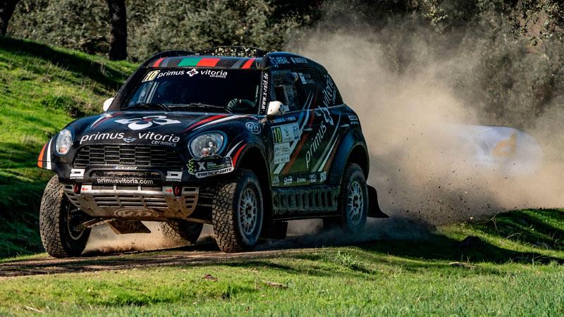 Alejandro Martins y Jose Marques, ganadores de la categoría de coches. Foto: Cedida