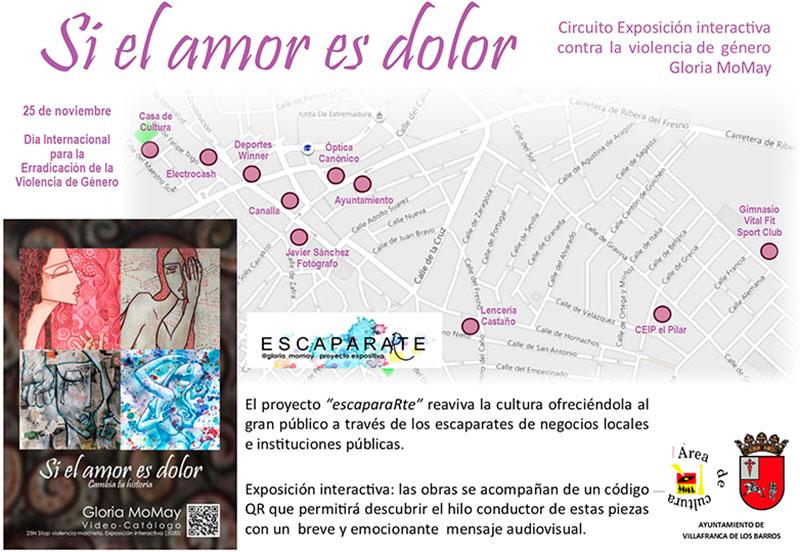 Itinerario de la exposición