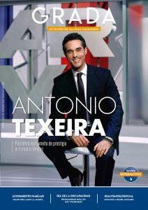 Antonio Texeira. Periodista extremeño de prestigio en Estados Unidos. Grada 151. Portada