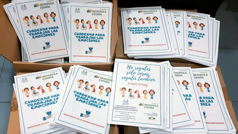 La Fundación Iberdrola promociona con Cocemfe Badajoz la inteligencia emocional
