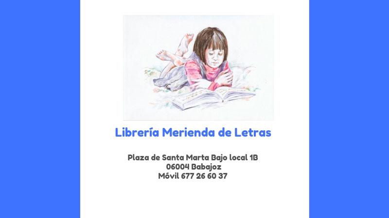 Librería 'Merienda de letras'