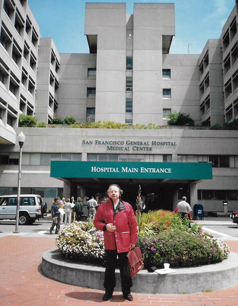 En el Hospital General de San Francisco, referente en la investigación del Sida. Foto: Cedida
