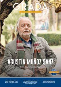 Agustín Muñoz Sanz. Médico, investigador, humanista. Grada 152. Portada