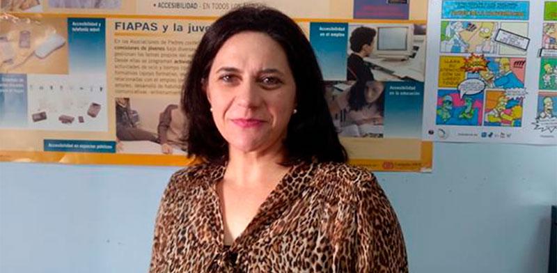La gerente de Adaba, Isabel Rodríguez Arrones. Foto: Cedida