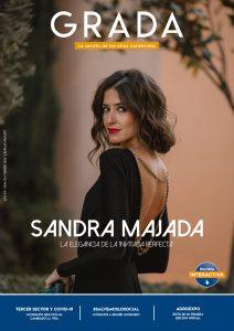 Sandra Majada. La elegancia de la 'Invitada perfecta'. Grada 153. Portada